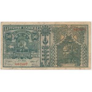 Lithuania, 50 Litu 1922