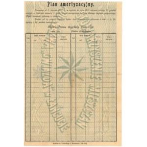 Łańcut Stowarzyszenie mieszczan pod nazwą GWIAZDA, List Dłużny 10 kr 1905 r.