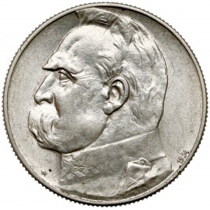 Strzelecki Piłsudski 5 złotych 1934