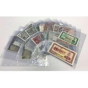 Europe & Canada - Collection of banknotes (31pcs)