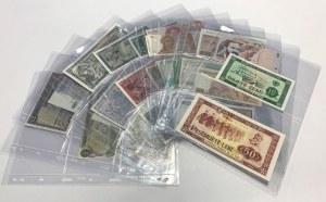 Europa i Kanada - mała kolekcja banknotów (31szt)