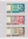 South America - lot of ca. 95 banknotes in album