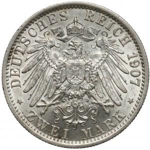 Preussen, 2 mark 1907 A