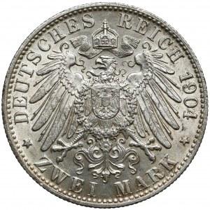 Bremen, 2 mark 1904 J