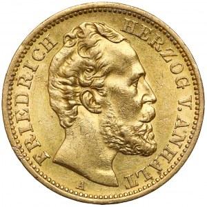 Anhalt, Friedrich I., 20 mark 1875 A