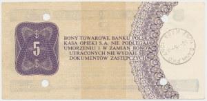 PEWEX 5 dolarów 1979 - HE - skasowany