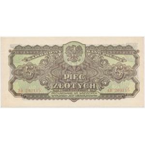 5 złotych 1944 ...owym - AB