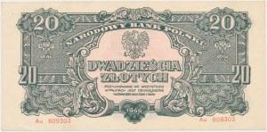 20 złotych 1944 ...owe - Au