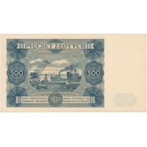 500 złotych 1947 - N