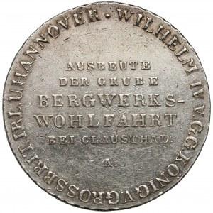 Hannover, Wilhelm IV., 2/3 Taler (gulden) 1833