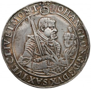 Saschen, Johann Georg I., Taler 1651 Dresden