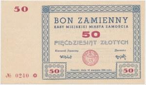 Zamość, 50 złotych 1944