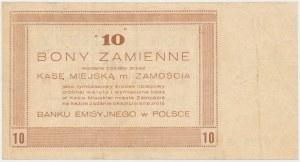 Zamość, 10 złotych 1944