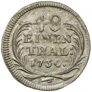 August II Mocny, 1/48 talara 1730 IGS, Drezno