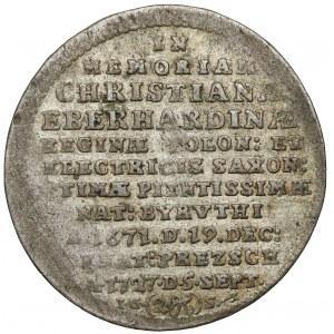 August II Mocny, Dwugrosz pamiątkowy 1727 - Cyprys