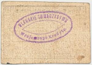 Olkusz, Tow. Wzajemnego Kredytu, 10 kopiejek (1914)
