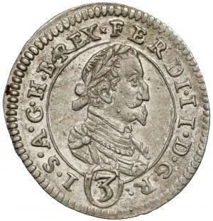 Austria, Ferdynand II, 3 krajcary 1626, Graz