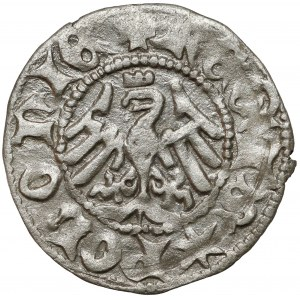Władysław II Jagiełło, Półgrosz Kraków - typ 5 - litera A - rzadki
