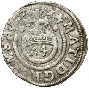 Magdeburg-Bistum, Christian Wilhelm von Brandenburg, 1/24 Taler 1614