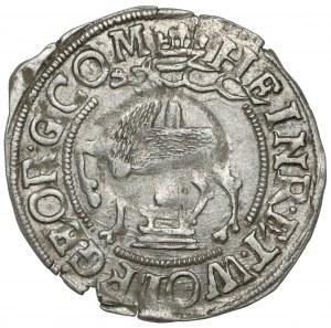 Stolberg-Stolberg, Heinrich XXII. und Wolfgang Georg, 1/28 Taler 1612 AL