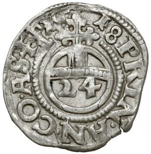 Anhalt, Joh.Georg I., Christian I., August, Rudolf, Ludwig, 1/24 Taler 1618