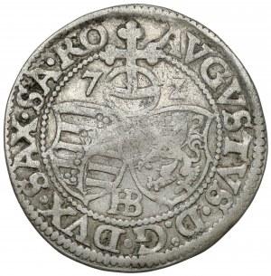 Sachsen, August, Groschen 1572 HB