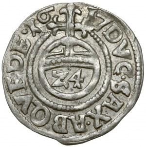 Quedlinburg, Dorothea von Sachsen, 1/24 Taler 1617