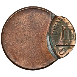 USA, 1 cent - DESTRUKT - OFF CENTER