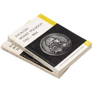 Biblioteczka... DESA - Katalogi monet 1669-1763 i 1765-1864 (2szt)