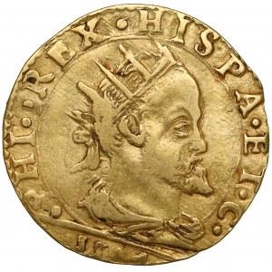 Włochy, Milan, Filip II Habsburg, Doppia 1594