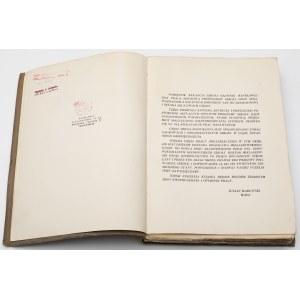 Złoto i przyszła waluta złota [Pamiętnik 30-lecia SGH], Młynarski 1938