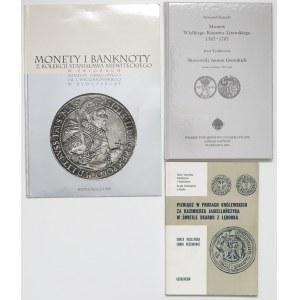 Monety Księstwa Litewskiego, Prus Królewskich (3szt)