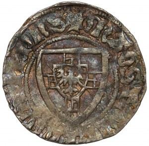Zakon Krzyżacki, Henryk von Plauen, Szeląg - D nad tarczą