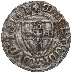 Zakon Krzyżacki, Konrad III von Jungingen, Szeląg - krzyż nad tarczą