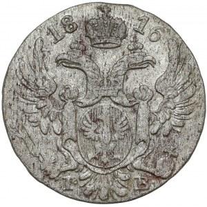 10 groszy polskich 1816 IB - pierwsza - b.ładna