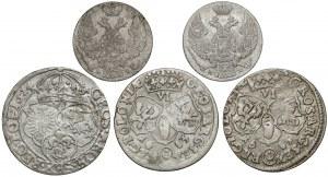 Od Zygmunta III Wazy do zaborów - zestaw (5szt)