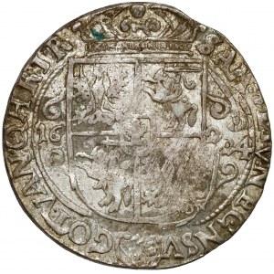 Zygmunt III Waza, Ort Bydgoszcz 1624 - Sas w owalnej