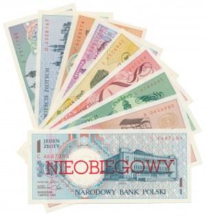 Miasta Polskie - komplet NIEOBIEGOWE