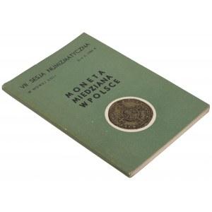 Moneta miedziana w Polsce - VII Sesja Nowej Soli