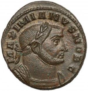 Maksymian Herkuliusz (286-305 n.e.), Follis, Lugdunum