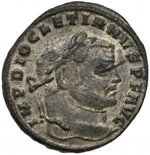 Diocletian (284-305 n.e.) Follis, Siscia