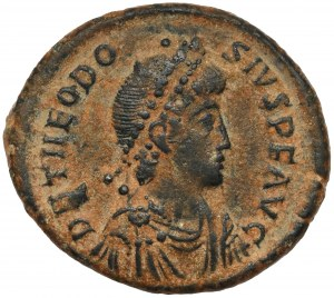 Teodozjusz I Wielki (379-395 n.e.) Follis, Konstantynopol