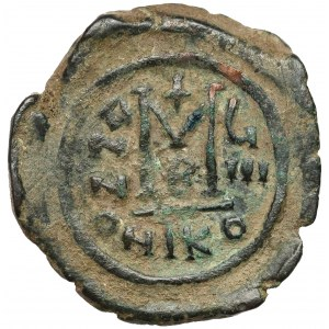 Maurycy Tyberiusz (582-602 n.e.) Follis, Nikomedia