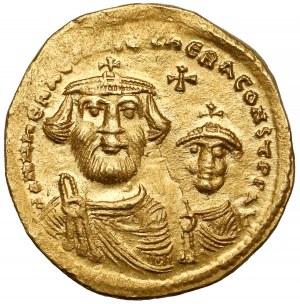 Herakliusz (610-641 n.e.) Solidus, Konstantynopol