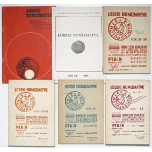Łódzki numizmatyk (6szt)