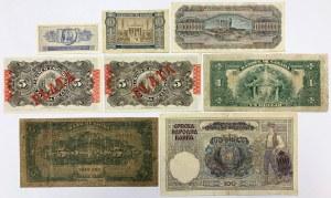 Cuba, China, Canada, Greece - lot od 8 banknotes