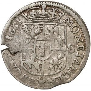 Jan II Kazimierz, Ort Wschowa 1651