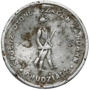 Grudziądz, Dywizjon Szkolny Żandarmerii, 1 złoty