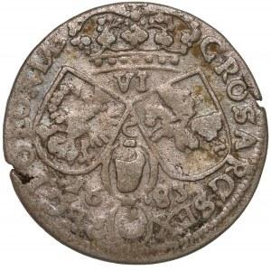 Jan III Sobieski, Szóstak Kraków 1683 - C - w koronie