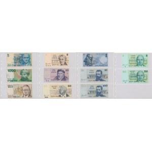 Israel, set of banknotes (11pcs)